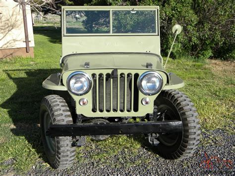 Jeep Frames For Sale 1948 Willys Jeep Cj 2a Frame Restored