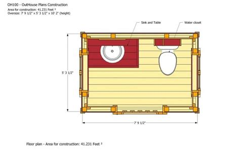 outhouse floor plans how to build an outhouse living off the grid in style