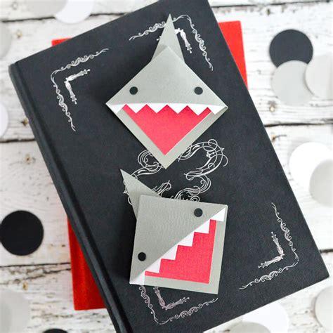 printable shark bookmarks shark week corner shark bookmark hey let s make stuff