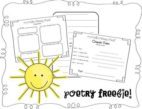 the first grade parade the plants dance 10 poetry printables for the classroom roommomspot