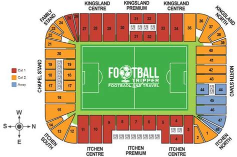 tottenham wembley seating plan away fans st s stadium southton f c football tripper
