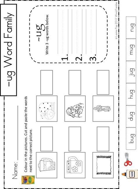 Free Printable Word Family Worksheets For Kindergarten by 12 Best Images About Word Families On The