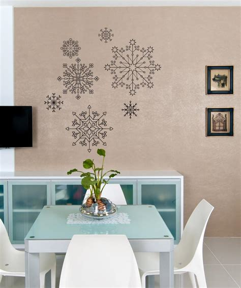 Wall Sticker Snowflakes snowflake wall decals snowflake stickers for wall