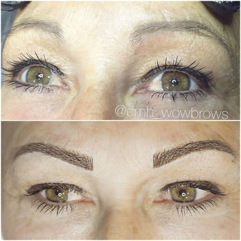 tattoo eyebrows australia hair stroke feather touch micro blading natural eyebrow