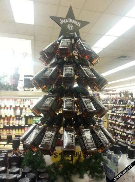 rum bottle xmas tree 3 tips for creating a great liquor display