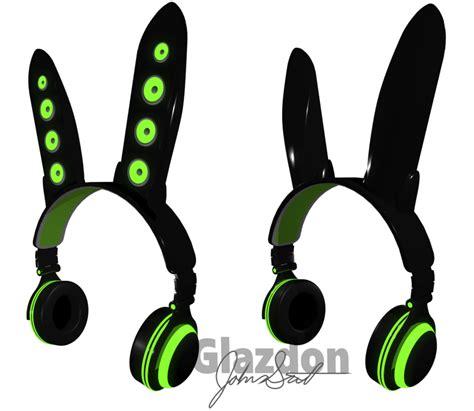 Headphone Axent Wear axent wear bunny by glazdon on deviantart