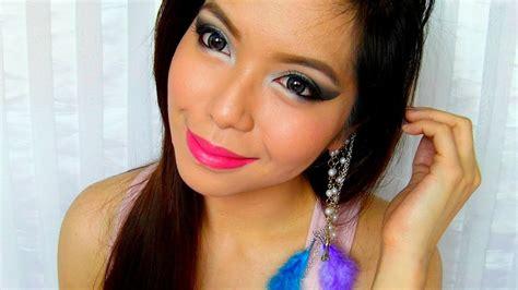 makeup tutorial video tagalog smokey silver and black makeup tagalog tutorial youtube