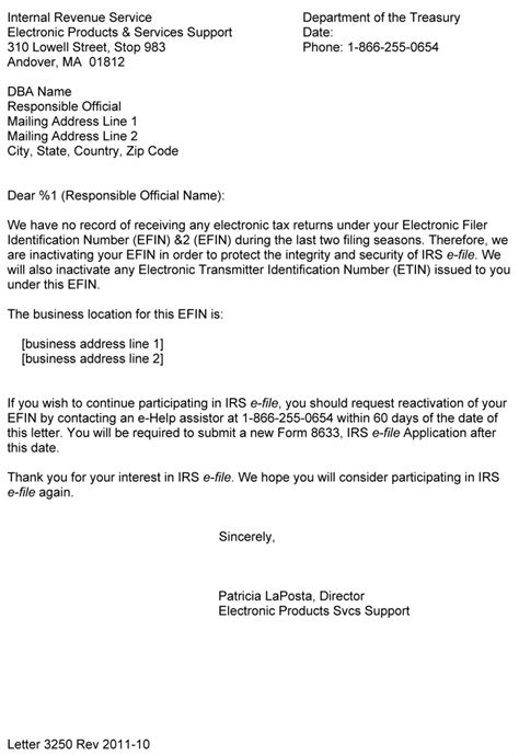 business closing letter to irs exle letter to irs to business account image