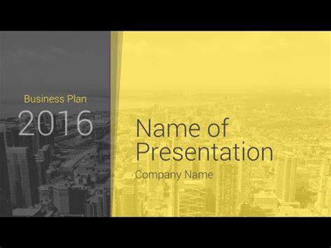 Modern Business Plan Powerpoint Template Presentationdeck Com Youtube Modern Business Plan Powerpoint Template Free