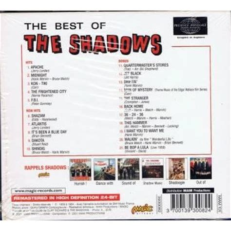 the best of the shadows the best of the shadows apache 20 by the shadows cd