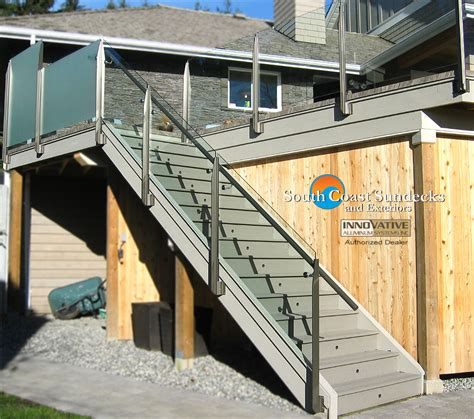 Difference Between Banister And Balustrade by Remarkable Glass Deck Railing Company In Vancouver