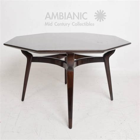 Octagon Shaped Dining Table Monteverdi And Walnut Dining Or Office Table Octagon Shape For Sale At 1stdibs