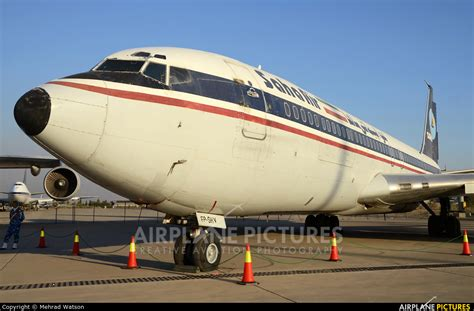 saha section 8 ep shv saha air boeing 707 300 at tehran mehrabad intl