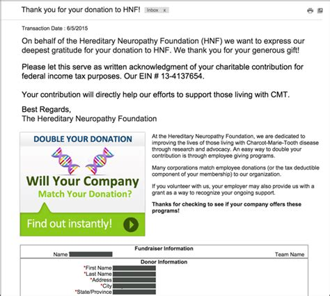 Fundraising Match Letter How To Market Matching Gifts In The Donation Process