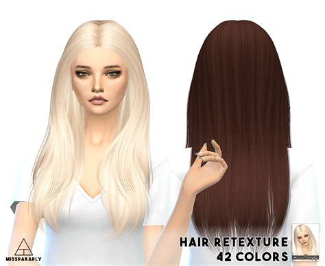 sims 4 cc hair retextures missparaply ts4 hair retextures nightcrawler hairs