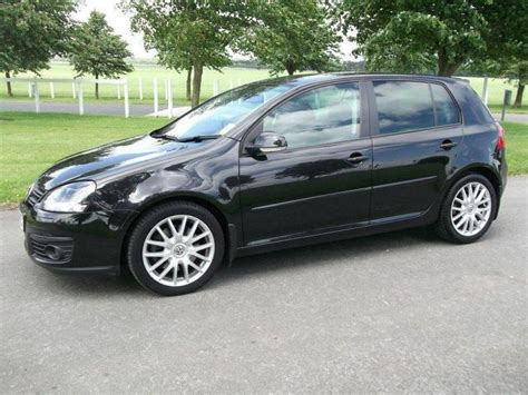 black volkswagen golf used black volkswagen golf 2007 diesel 2 0 gt sport tdi
