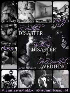 a beautiful wedding a beautiful disaster novella beautiful disaster series 1000 images about best author mcguire on