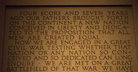 lincoln memorial words listen for its 150th a reading of the gettysburg address