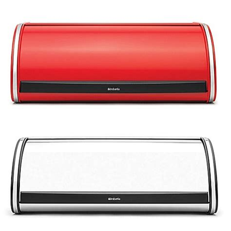 bread box bed bath and beyond brabantia 174 roll top bread box bed bath beyond