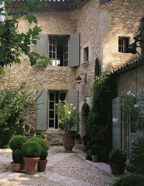 courtyard home wonderful french courtyard content in a cottage