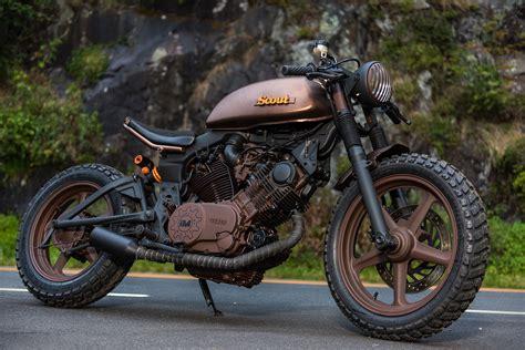 Yamaha Motorrad 750 by Yamaha Xv750 Virago Scout Motorcycle Uncrate