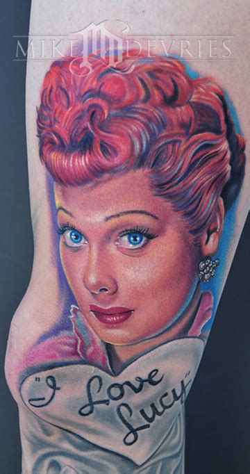 lucille ball tattoo education tattoos mike devries