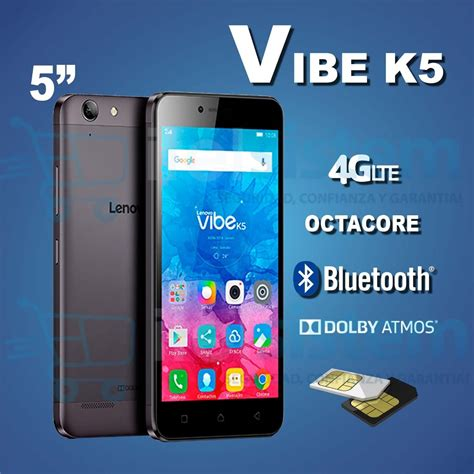 Lenovo Vibe K5 Ram 2gb lenovo vibe k5 4g lte dual 16gb 13mp ram 2gb itelsistem s 599 99 en mercado libre