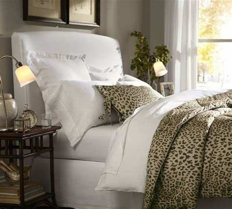 pottery barn leopard bedding giveaway