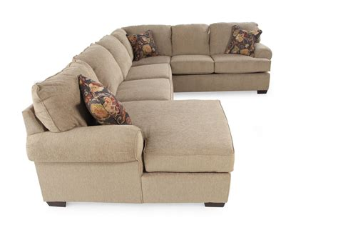 lane furniture sectional lane vivian barely sectional mathis brothers furniture