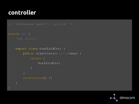 directive controllers cannot use the revealing module using angularjs with typescript