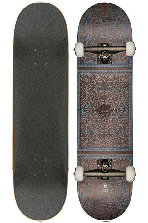 skateboard rugs globe skateboard complete rug burn navy ebay