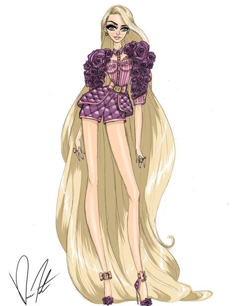 fashion illustration rapunzel 257 best disney couture images on disney