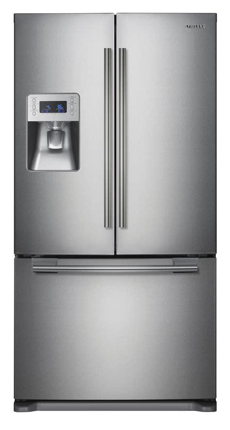 door refrigerator sears outlet samsung rf268acrs 26 cu ft door refrigerator