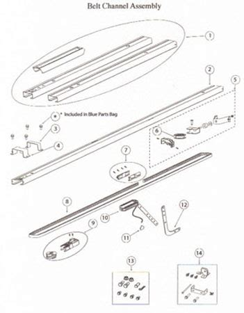 Overhead Garage Door Replacement Parts Garage Door Parts Overhead Garage Door Parts Diagram