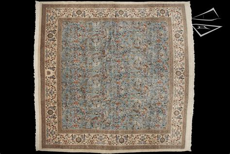 Square Rugs by Square Cyrus Crown 174 Tabriz Rug 12 X 12