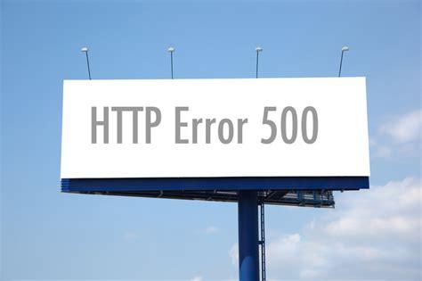 errore interno guida come risolvere errore 500