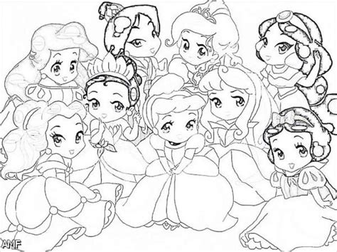 Princess Coloring Pages Ba Fashion Trends 2016 2017 Baby Disney Princess Coloring Pages