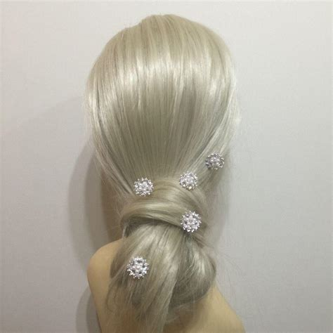 Vintage Wedding Hair Pins Uk by Vintage Flower Hair Pins Bridal Hair Pins