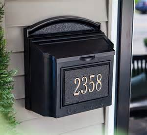 Decorative Mailboxes Black Wall Mount Mailbox Interior Design Ideas