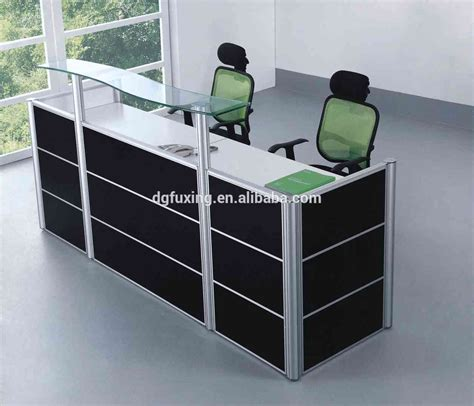 fashionable high bar tables half reception desk