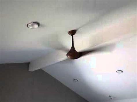 koa wood ceiling fan minka aire koa wood ceiling fan installed youtube
