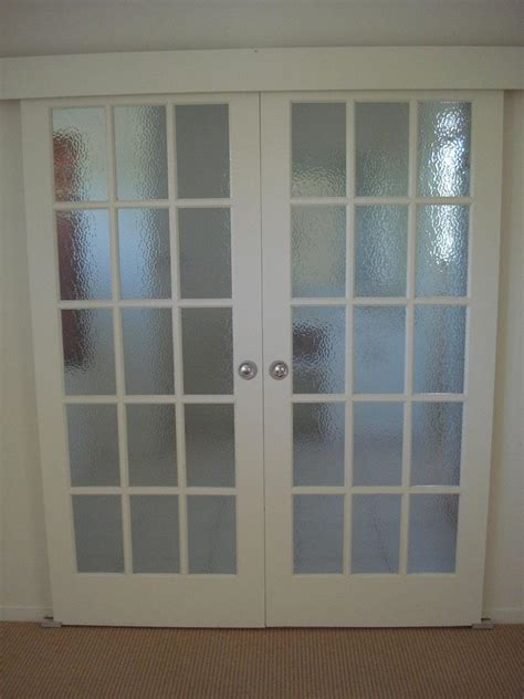 French Doors Interior Frosted Glass An Ideal Material Frosted Interior Doors