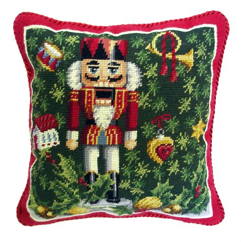 stitched wool pillows traditions