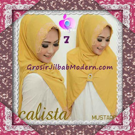 Jilbab Anak Arzeti jilbab instant modis arzeti calista premium original by apple brand no 7 mustard grosir