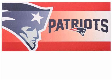 Patriots Doormat new patriots sassafras mat 10 x 22 insert doormat