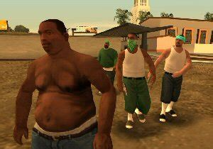 Eating Out   Working Out   Grand Theft Auto: San Andreas   PlayStation 2   The Gamers' Temple