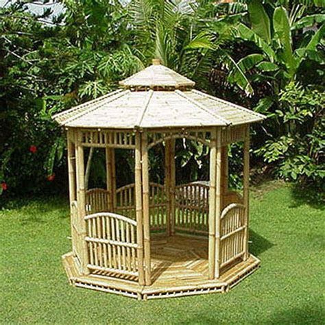 pavillon bambus bambus gazebo