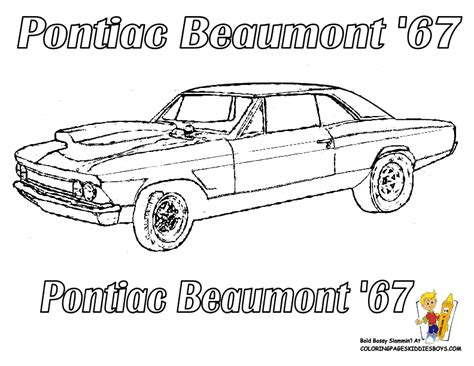 printable coloring pages of muscle cars free beaumont car coloring supercar collectibles 01 gif