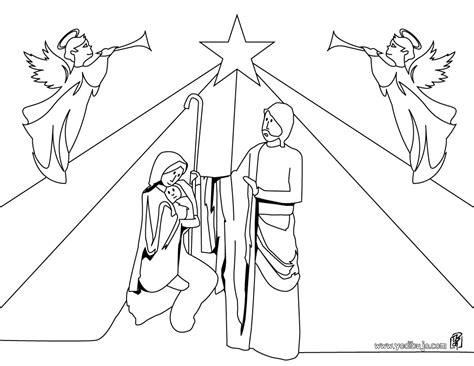 imagenes de navidad para colorear nacimientos dibujos para colorear bel 233 n navide 241 o es hellokids com