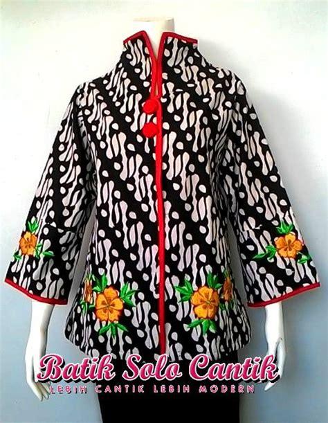 Batik Tunik Parang Sogan baju batik sogan daniyanti